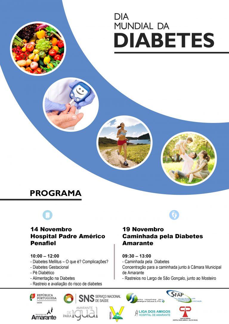 Cartaz Dia Mundial da Diabetes