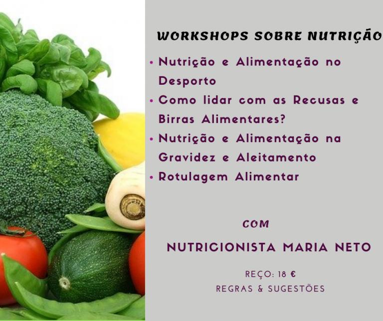 workshops sobre nutrição